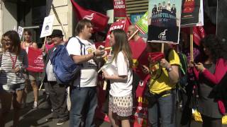 Download PROTEST: UK McDonald's workers demand £10 minimum wage Video