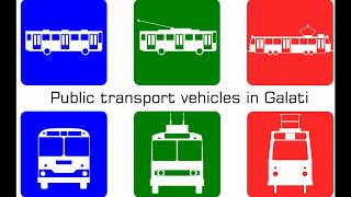Download Public Transport Vehicles in Galati Video