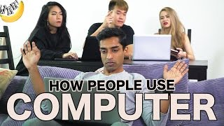 Download How People Use Computer Video