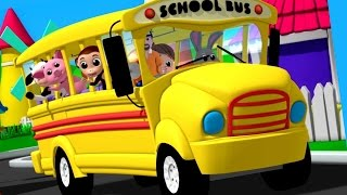 Download Luke & Lily - Wheels On The Bus | Nursery Rhymes | Songs For Children Video