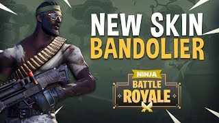 Download New Skin Bandolier!! - Fortnite Battle Royale Gameplay - Ninja Video