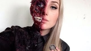 Download Harvey Dent | Two Face Special FX HALLOWEEN Makeup Tutorial Video