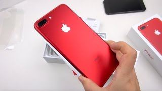 Download RED iPhone 7 Plus Unboxing & Close-ups! Video