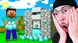 Download IF YOU LAUGH YOU DELETE MINECRAFT CHALLENGE! Unlimited Diamond HACK in Minecraft Animations Video