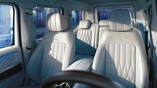 Download New G-class Exclusive interior PLUS - macchiato beige designo leather and AMG carbon fiber Video