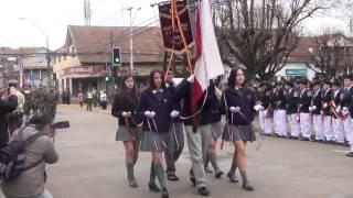Download Desfile de Colegios de La Unión junto al Regimiento Maturana de La Unión Video