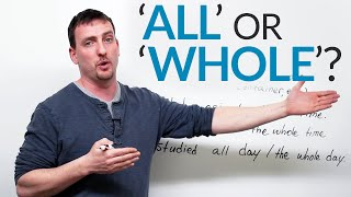 Download Learn English - ALL or WHOLE? Video