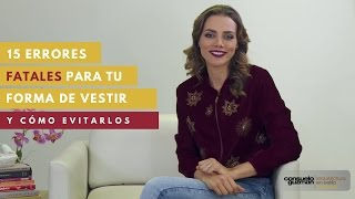 Download 15 Errores Fatales Para Tu Forma De Vestir - Y Cómo Evitarlos Video