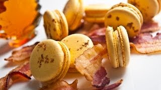 Download French Macarons (Part II): Maple Bacon Buttercream - Macaron Magic, Hosted by Jialin Tian Video