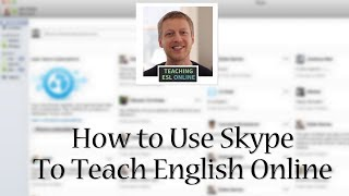 Download Using Skype to Teach English Online: Screen Sharing, Instant Messaging, and Group Video Calls Video