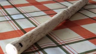 Download Making A Traditional Wooden Koncovka (Slovak Wooden Flute) Video