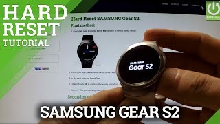 Download Hard Reset SAMSUNG Gear S2 - Factory Reset by Recovery Mode Video
