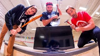 Download CAN WE BREAK THIS? / FlatScreen TV ! Video