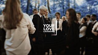 Download fem!Harry+Draco [Love Lockdown] Video