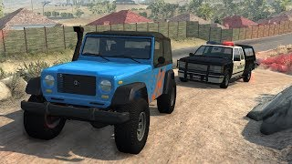 Download Off-Road Vehicles Police Chases | BeamNG.drive Video