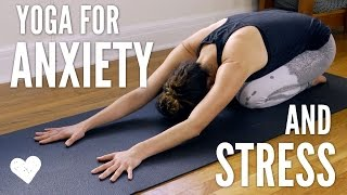 Download Yoga For Anxiety and Stress Video