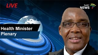 Download Minister of Health plenary: 23 February 2017 Video