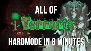 Download All of Terraria's Hardmode in 8 Minutes Video
