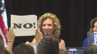 Download Debbie Wasserman Schultz Booed Off DNC Stage Video