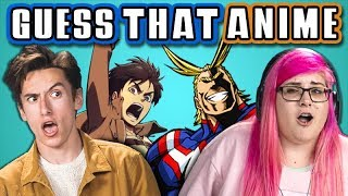 Download GUESS THAT ANIME CHALLENGE with TEENS & COLLEGE KIDS (React) Video