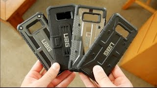 Download Galaxy S8 - All UAG Urban Armor Gear Cases Comparison Plasma vs Pathfinder vs Metropolis vs Monarch Video