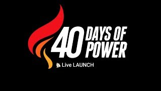 Download Join Pastor Mensa Otabil for the launch of 40 Days of Power 2019 Video