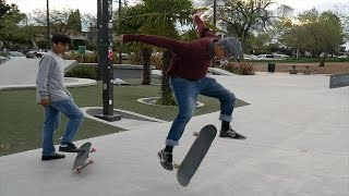 Download Old Man Kills It At The Skate Park.... Do You Even Skate Bro? Video