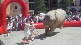 Download Recortes de niños a toros en feria 2016 Manzanares Video