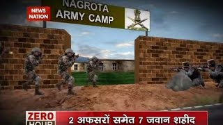 Download Zero Hour: Nagrota- Soldier's wives avert hostage crisis by blocking entry of quarters Video