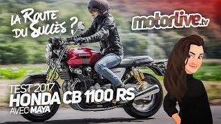 Download Honda CB 1100 RS 2017 sur la route du succès ? | TEST 2017 Video