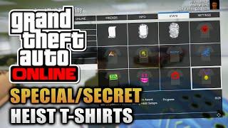 Download GTA Online - How To Unlock SPECIAL/SECRET Heist DLC T-Shirts & Chrome Rims! (GTA V) Video