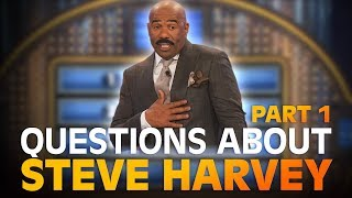 Download Funny Family Feud questions… about STEVE HARVEY! | Family Feud | PART 1 Video
