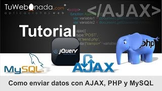 Download Como enviar datos con AJAX, PHP, MySQL, jQuery y CSS Video
