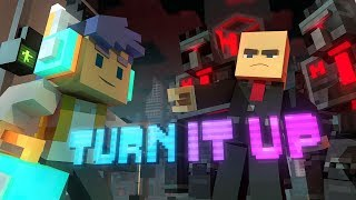 Download ♪ ″Turn It Up″ - A Minecraft Original Music Video/Song ♪ Video
