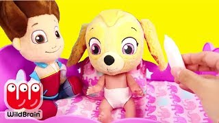 Download Paw Patrol Skye and Chase play Don't Wake Granny Challenge - Ellie Sparkles Toys and Dolls Video