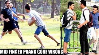 Download Showing Middle Finger Prank in INDIA(Gone Wrong) | AVRprankTV Video