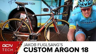 Download Jakob Fuglsang's Custom Argon 18 Gallium Pro Video