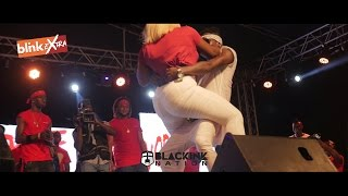 Download Shatta Wale ″Cheats″ on Michy with Sister Afia in Public (Full Video) Video