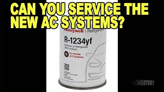 Download Can You DIY Service R-1234yf AC Systems? Video