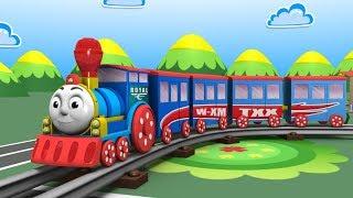 Download Cartoon Train - Train videos - jcb - Cars for Kids - Toys Factory - Kids Railway - Police Cartoon Video