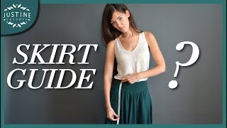 Download Good skirts for your body type | SKIRT GUIDE | Justine Leconte Video