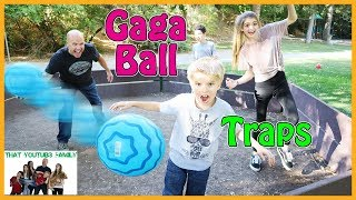 Download Family Fun Gaga Ball Game With Traps / That YouTub3 Family Video