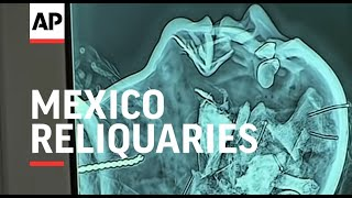 Download Digital X-rays look inside Mexico reliquaries Video