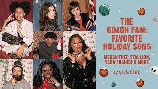 Download The Coach Fam: Favorite Holiday Song | Megan Thee Stallion, Yara Shahidi & More Video