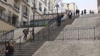 Download Montmartre, Paris ... Off the Tourist Track Video