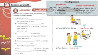 Download Full blast5 module 3b-4 Grammar present perfect simple and past simple Video