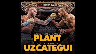 Download Jose Uzcategui vs Caleb Plant PBC Boxing World Championship Fights With Friends Live Reaction 5pm! Video