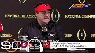Download Kirby Smart gets emotional after Georgia's loss to Alabama in the national championship game   ESPN Video