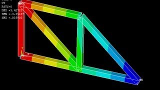 Download Truss Analysis - Ansys Tutorial Video