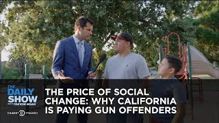 Download The Price of Social Change: Why California Is Paying Gun Offenders: The Daily Show Video